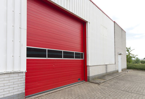 Industrial garage door repair Staten Island