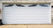 Garage door single car
