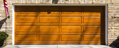 New wood garage door Staten Island
